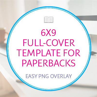 6×9 Full-Cover Template for Paperback Books