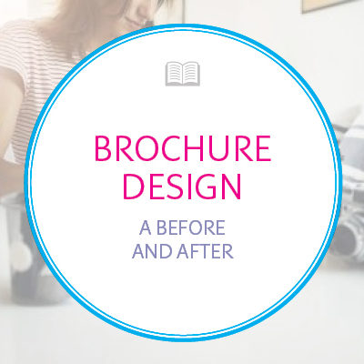 A Before-and-After Brochure Design