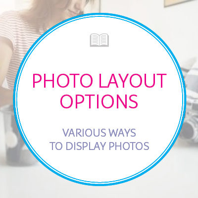 Book Layout Photo Options